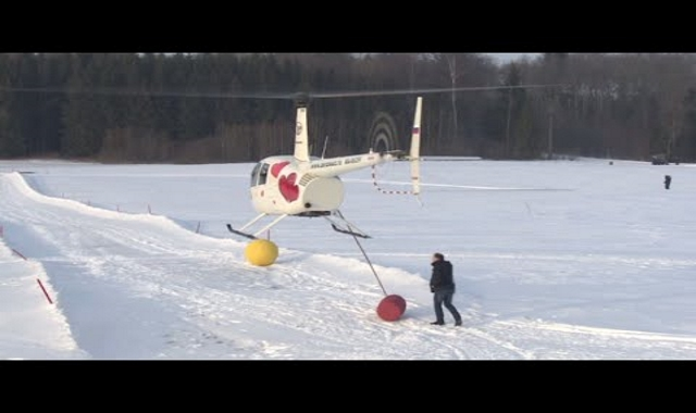 In Russia, Helicopters Do Golf. Wait, What?!