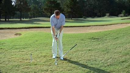 What to do on a Downhill Lie