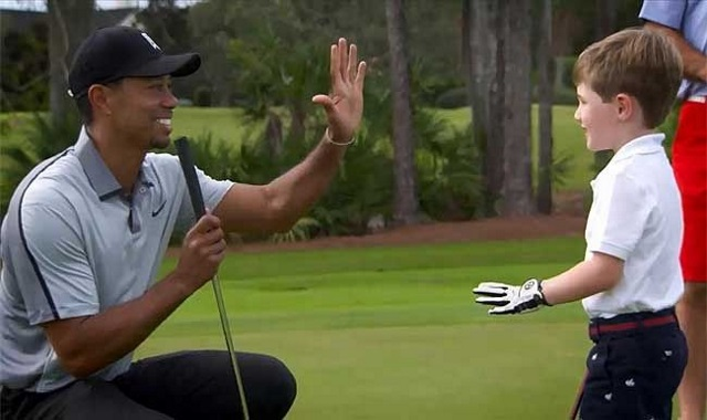 One-Armed Six-Year-Old Wins The Hearts Of PGA Stars And Fans In Honda Classic