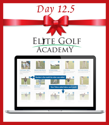 12.5 Deals of Christmas – Day 12.5 – Annual Elite Golf Academy Access