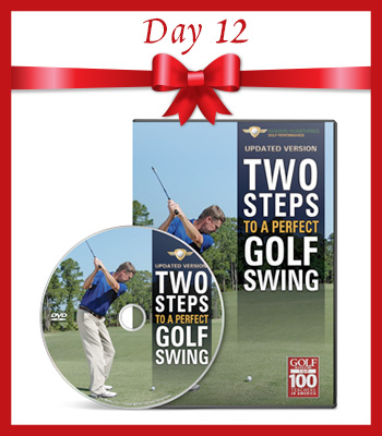 12.5 Deals of Christmas – Day 12 – Two Steps to a Perfect Golf Swing
