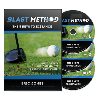 The first truly comprehensive golf training course that focuses on the elements of distance in your golf swing.