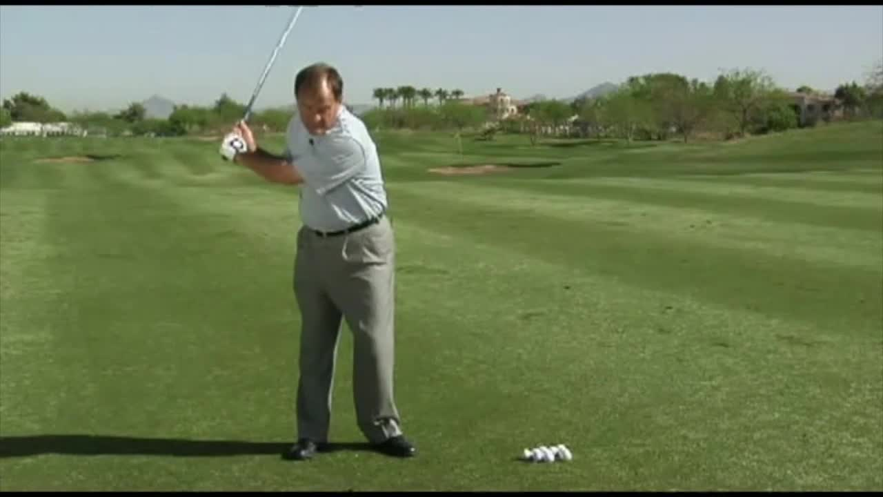 Roll the hands for incredible clubhead speed