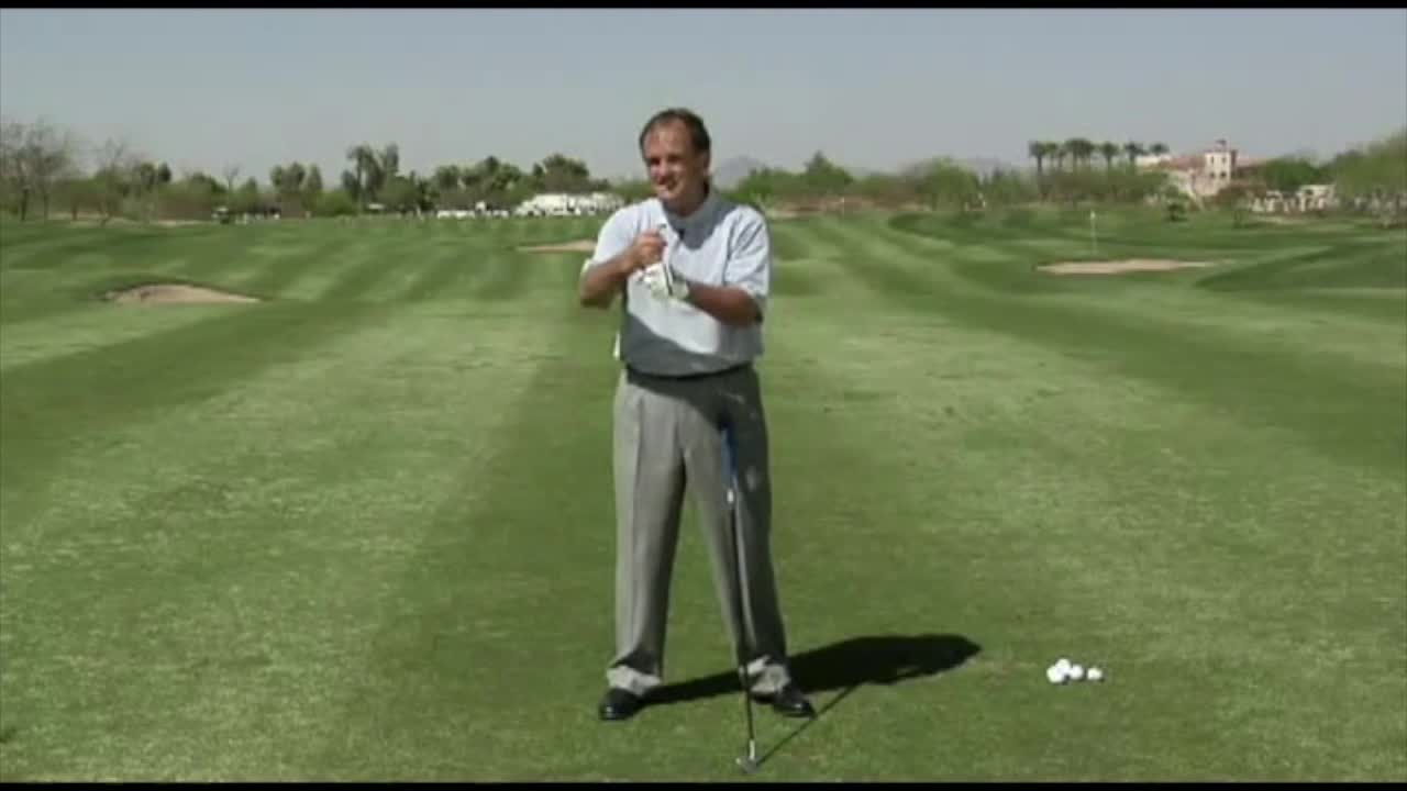 you have to turn your shoulders in the backswing