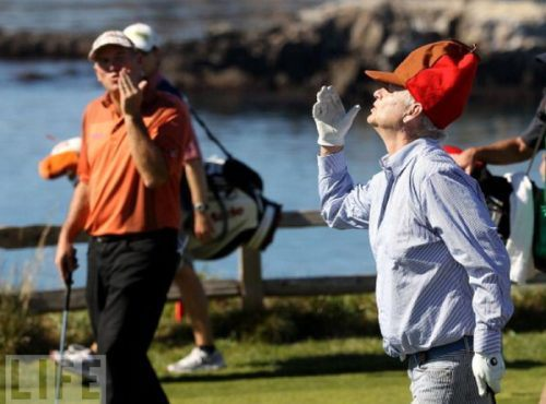 Bill Murray Plays Golf… You'll Never Guess What Happens!