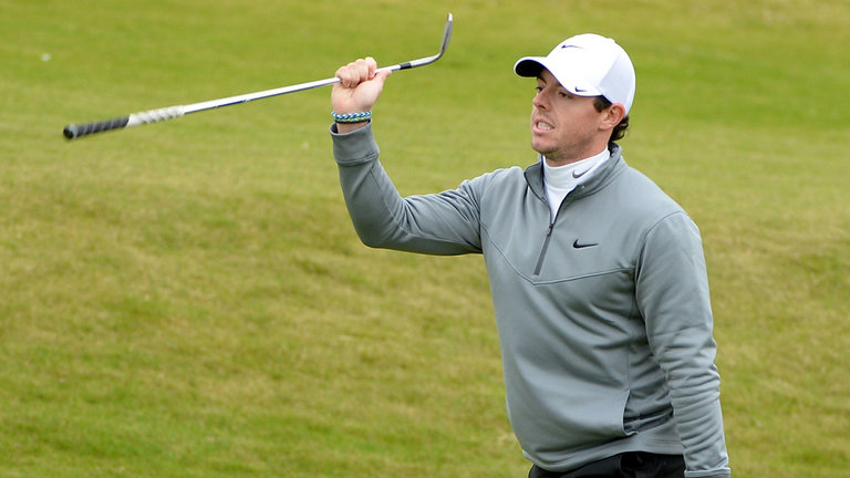 Breaking: Rory McIlroy Is Not Having a Good Time At The Australian Open 2014.